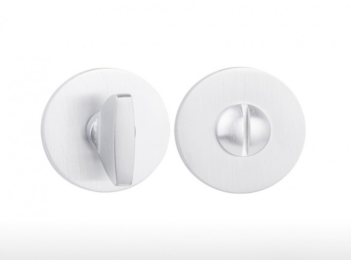 Bouton rond - 4041 5S Blanc Perle