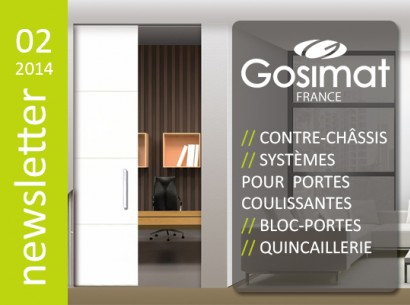 NEWSLETTER | GOSIMAT FRANCE